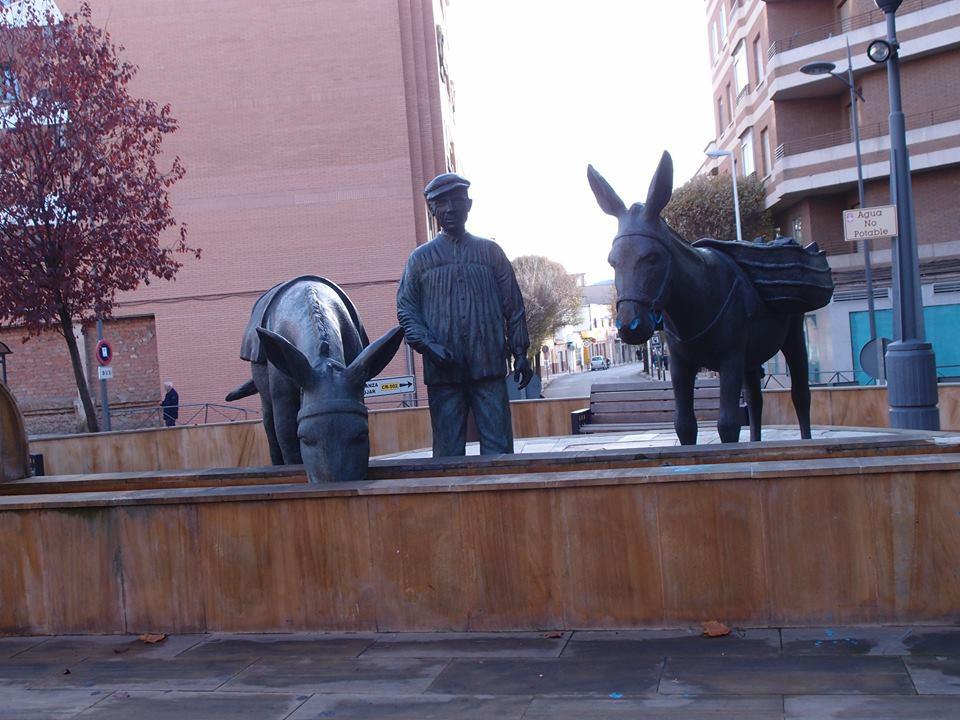 El Pilancon de los burros. Fotografía Faustino Miragalla Muñoz