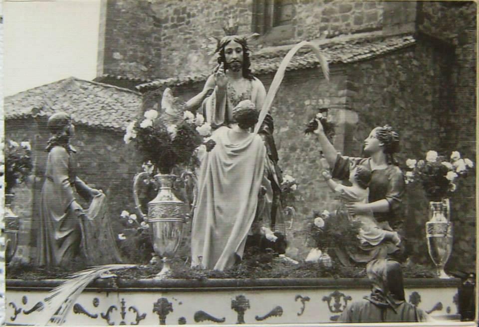 Domingo de Ramos. 1970 Fotografía García, Archivo Joaquín Castañeda
