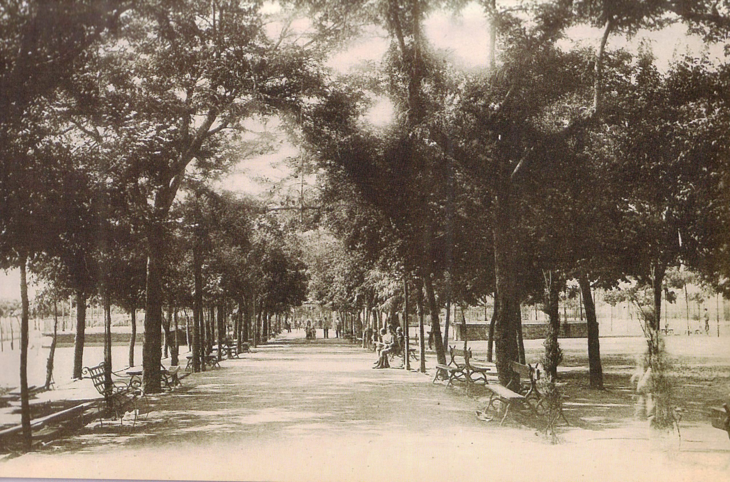 Paseo San Gregorio. 1930. Fotografía Oña