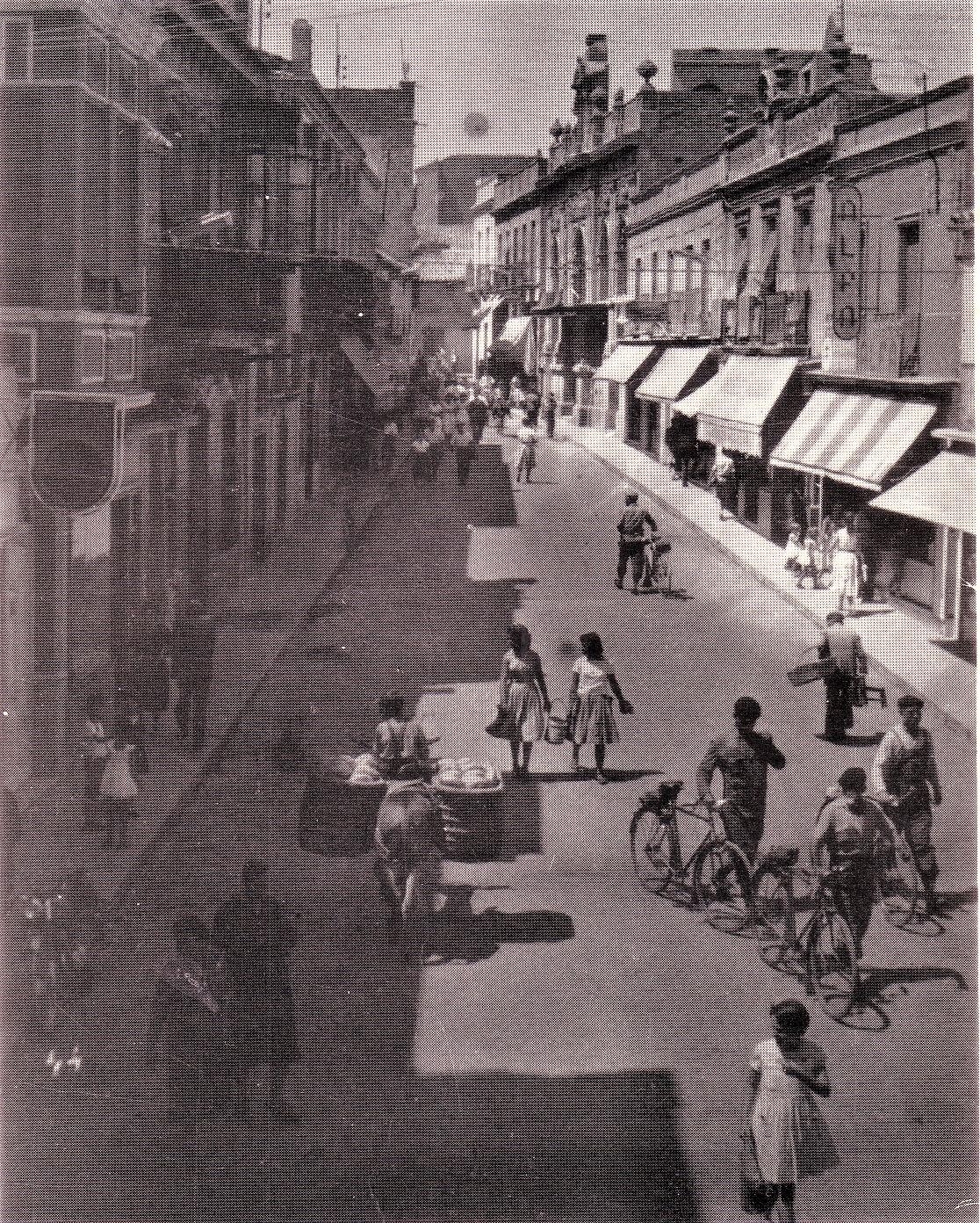 Calle Aduana, años 50