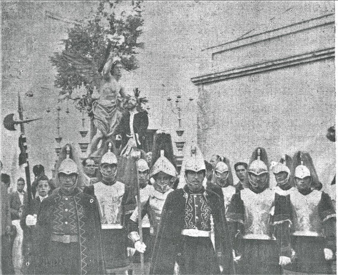 La Oración del Huerto y Soldados Romanos 1954