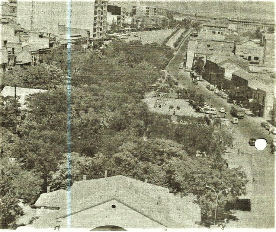 Vista general del Paseo San Gregorio. Archivo Felipe Valentín García
