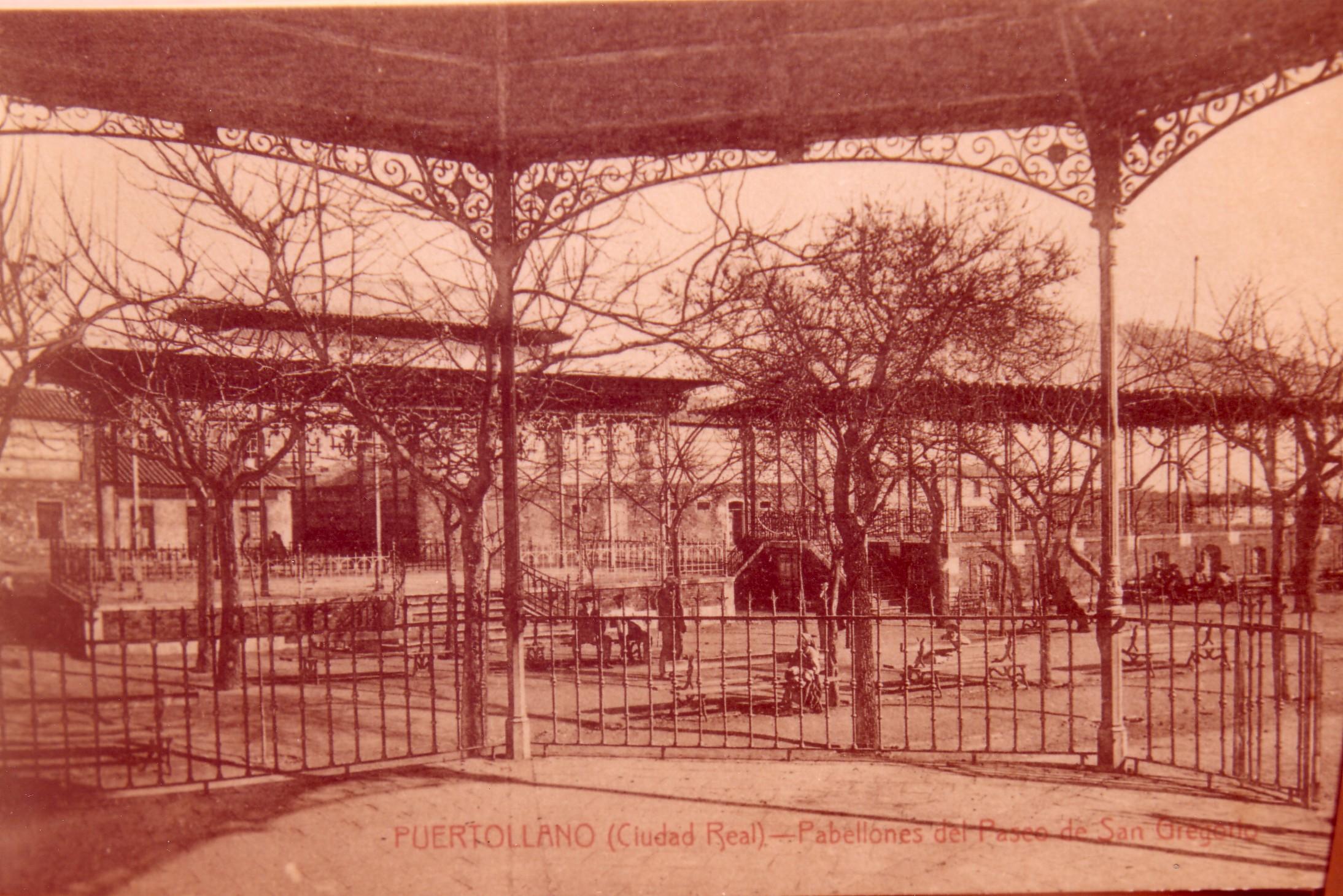 Pabellones. Fotografía Enrique Malagón. 1905-1920