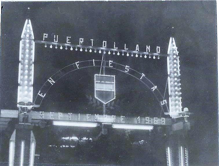 Entrada oficial a la Feria Septiembre del 1968
