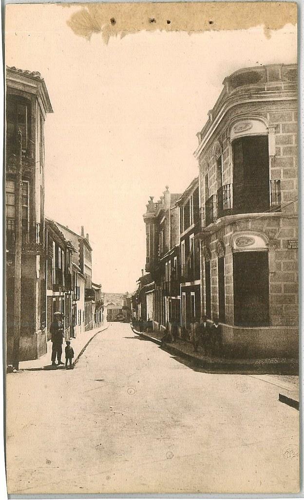 Calle Cruces 1930. Fotografía Oña