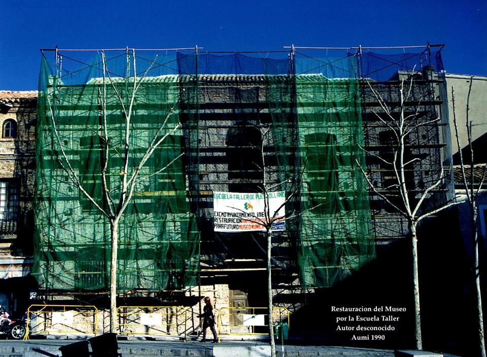 Restauración Museo. Archivo Aumi 1990