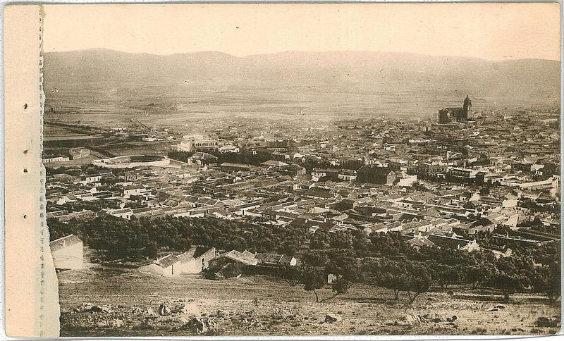 Vista panorámica de Puertollano en 1930 Fotografía Oña 1930