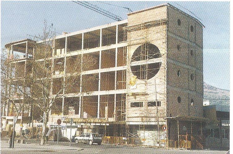 Construcción de la nueva Estación de autobuses Fotografía Felipe Valentín García