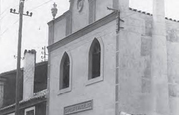 Iglesia Evangélica, calle Ancha 1926