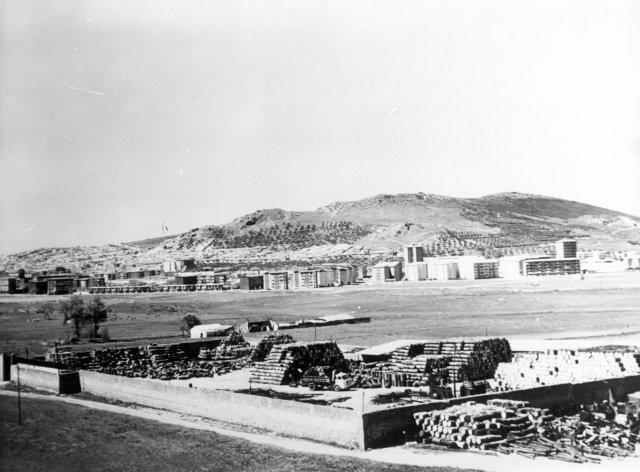 Construcción del Estadio Municipal hoy Estadio Sánchez Menor