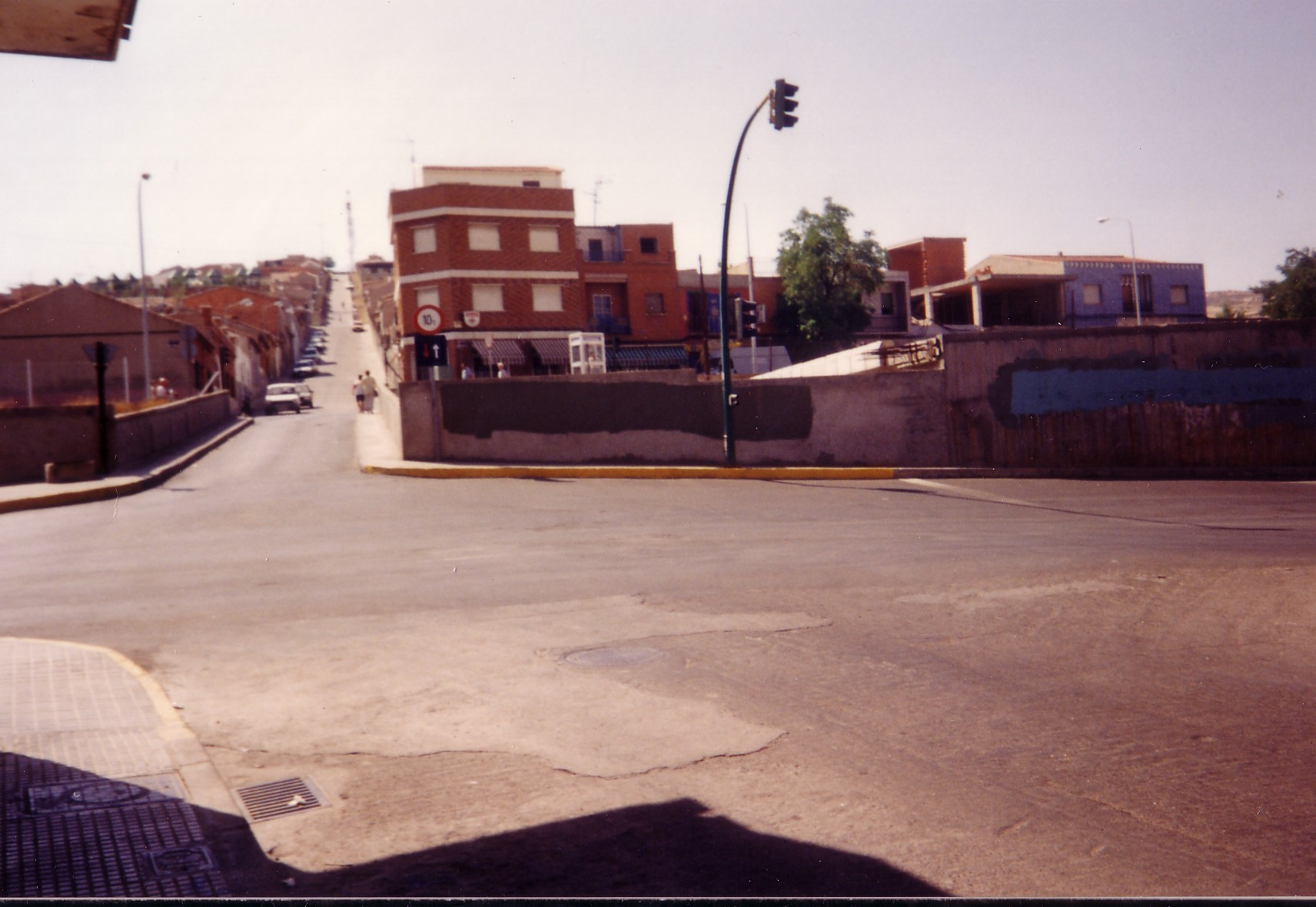 Puente S. Agustín Fotografía F. Negrete 1990