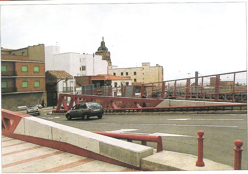 El nuevo puente de San Agustín. Fotografía Felipe Valentín García