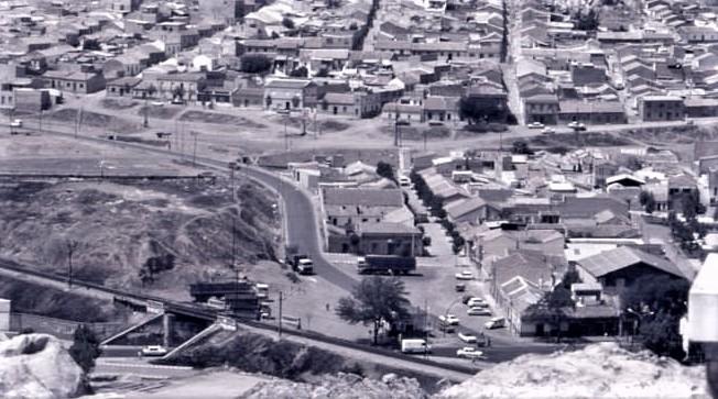 Puente Virgen de Gracia desde el Cerro Santa Ana