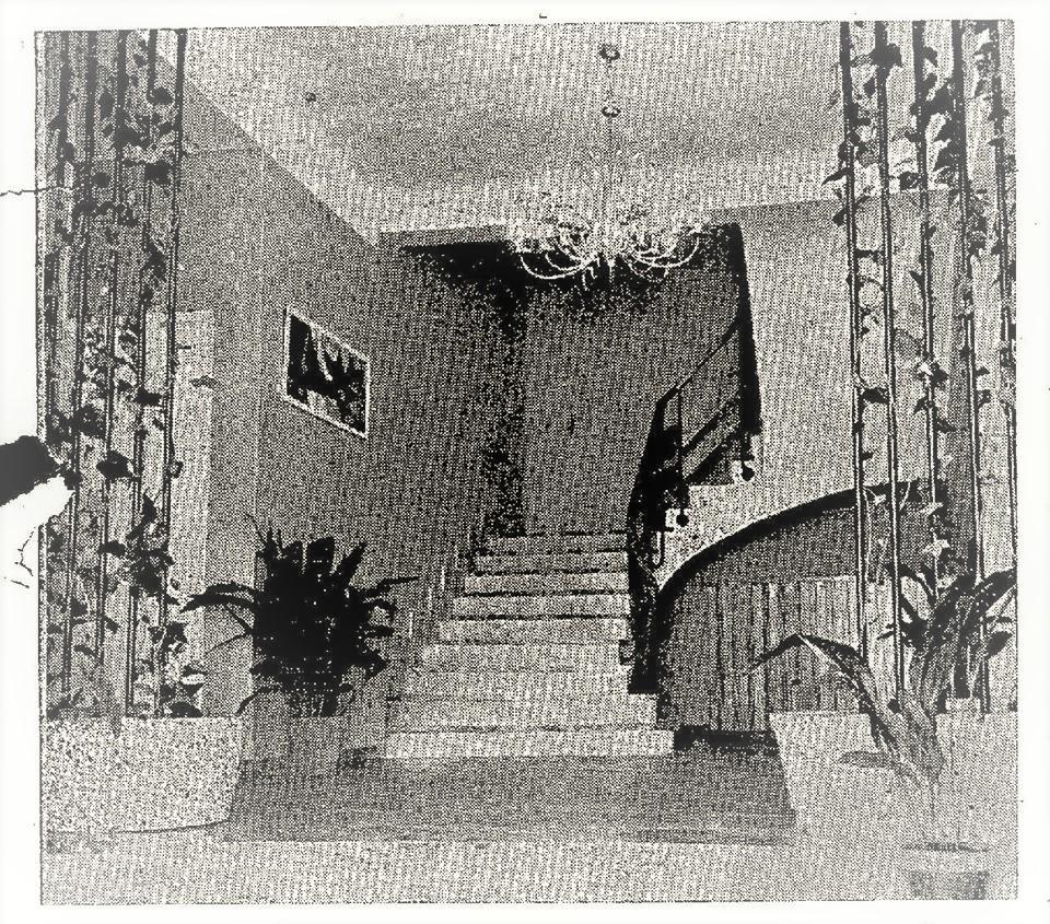 Entrada al Hospital 18 de Julio. 1962