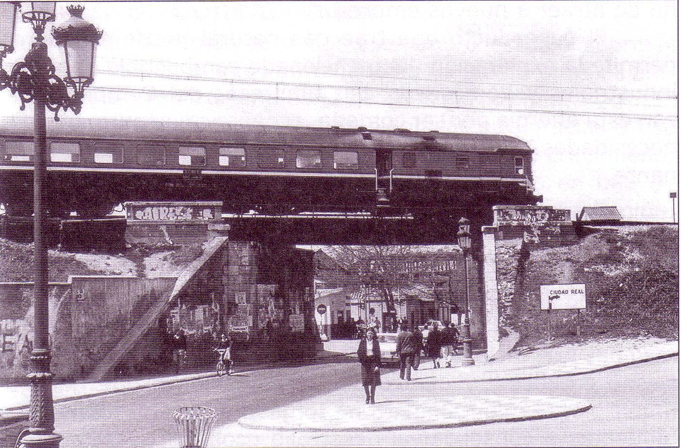Puente Virgen de Gracia. Años 70