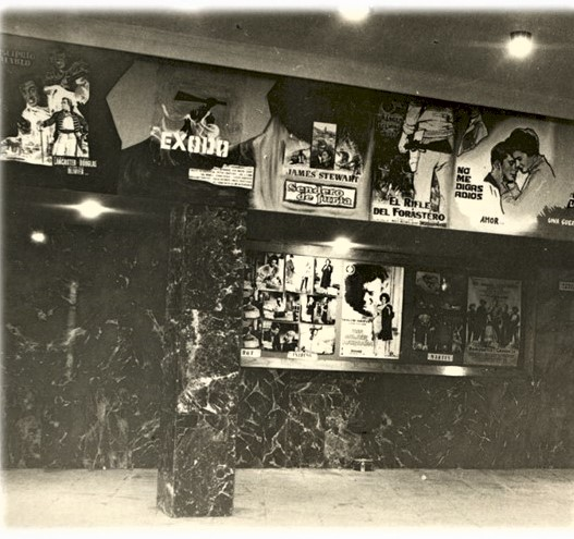 Vestíbulo del Cine Córdoba. Archivo Mas Cine por Favor. CCLM
