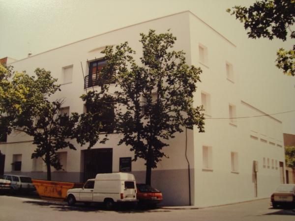 El Hospital 18 de Julio es actualmente el edificio de la Asociación de vecinos de Santa Ana y Centro Social