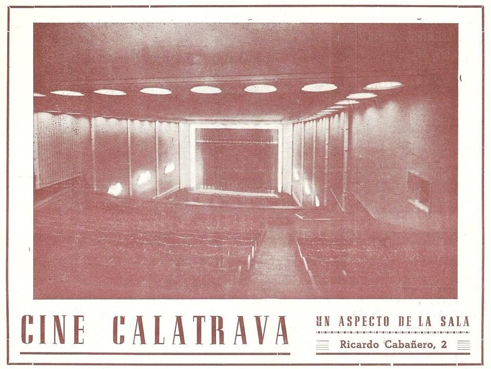 Interior del cine Calatrava