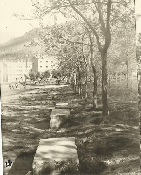Parque la Rincona 1960 situado en la barriada 630.Fotografia Felipe Valentín García