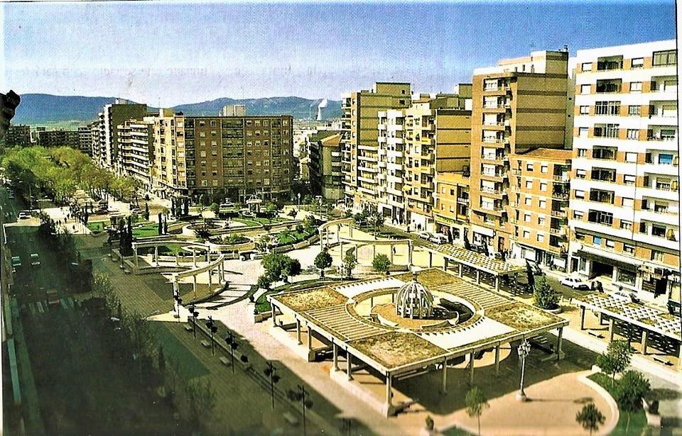 Vista del Bosque en dirección sur. 1988 Archivo Felipe Valentín García