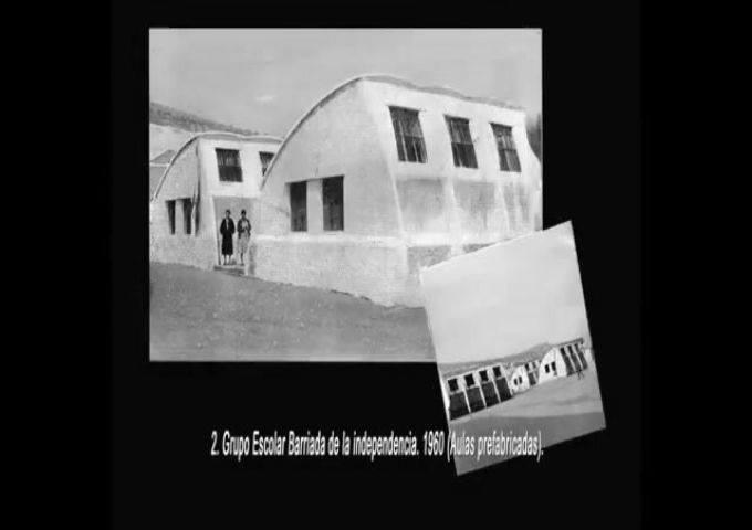 Grupo Escolar Barriada de la Independencia. 1960
