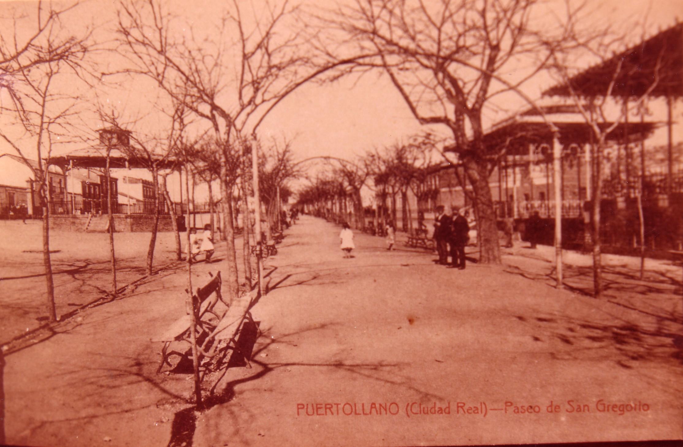 Los pabellones del Paseo de San Gregorio. . Fotografía Enrique Malagón. 1905-1920