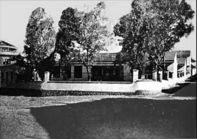 Colegio Ramón y Cajal, antiguas escuelas Ave María. 1960