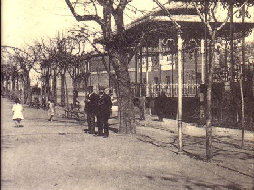 Pabellón del Casino Fotografía Enrique Malagón. 1905-1920