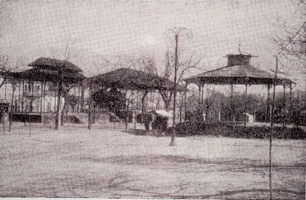 Pabellones del Paseo. 1952. Fotografía Gómez