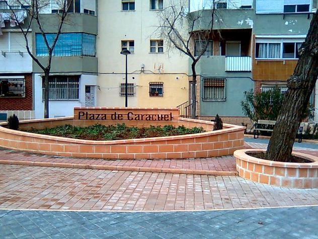 Plaza de Caracuel en la Barriada 630