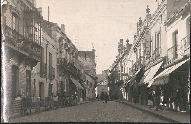 Calle Aduana (Generalísimo) 1959 Archivo UCLM