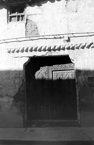 Desaparecida casa del S. XVIII. Calle Cuadro Fotografía de la Rosa