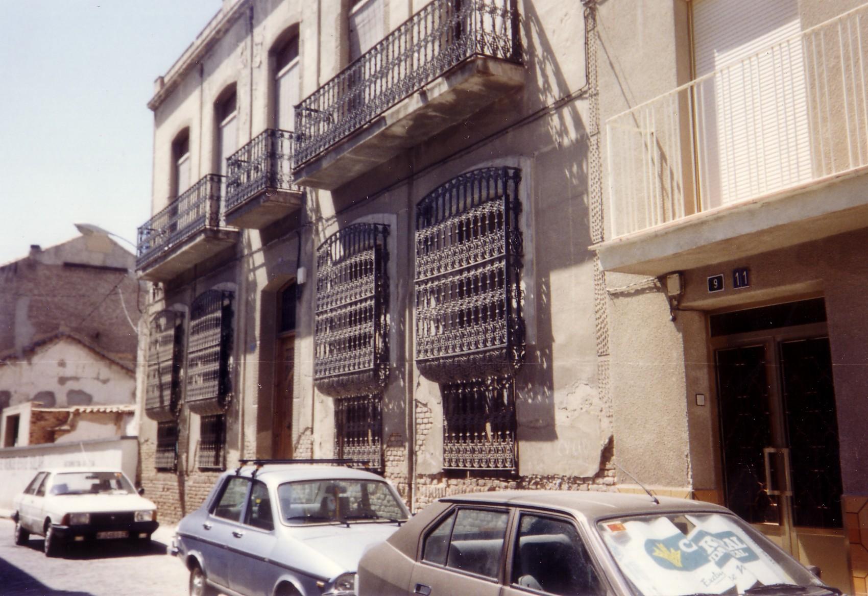 Calle Cuadro. Archivo F. Negrete