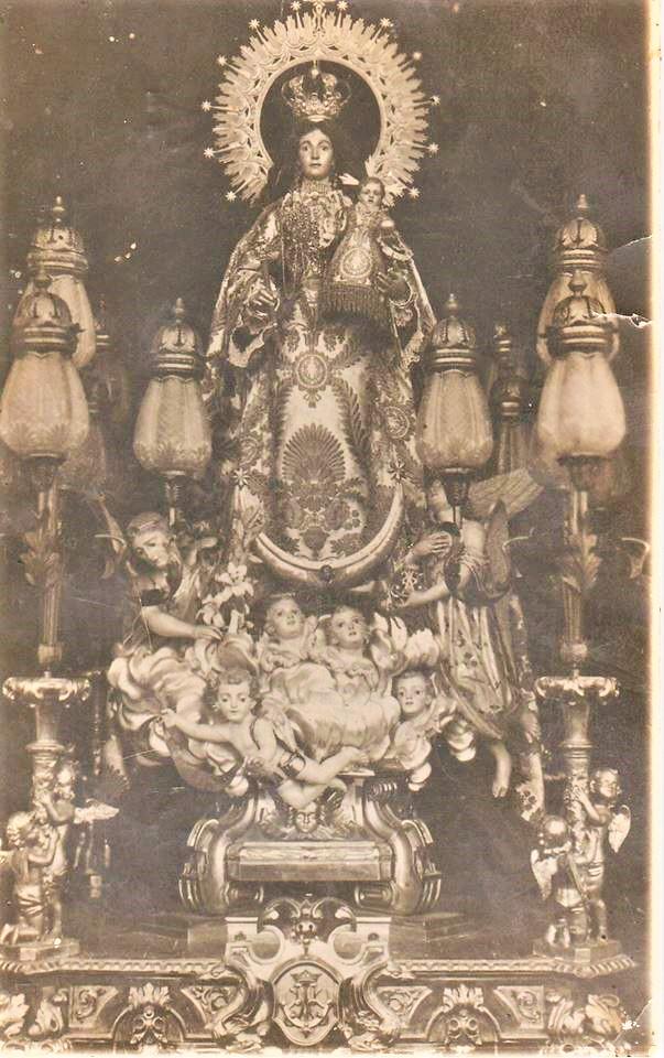 Imagen de la Virgen de Gracia de principios del S.XX