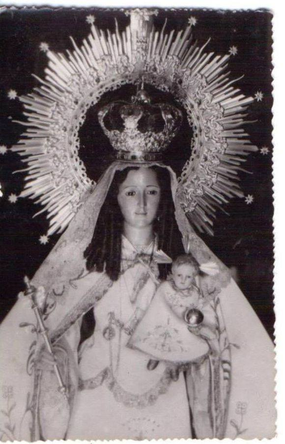 La nueva imagen de la Virgen de Gracia tras la Guerra Civil