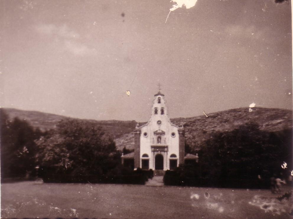 Iglesia Santa Bárbara. Años 50