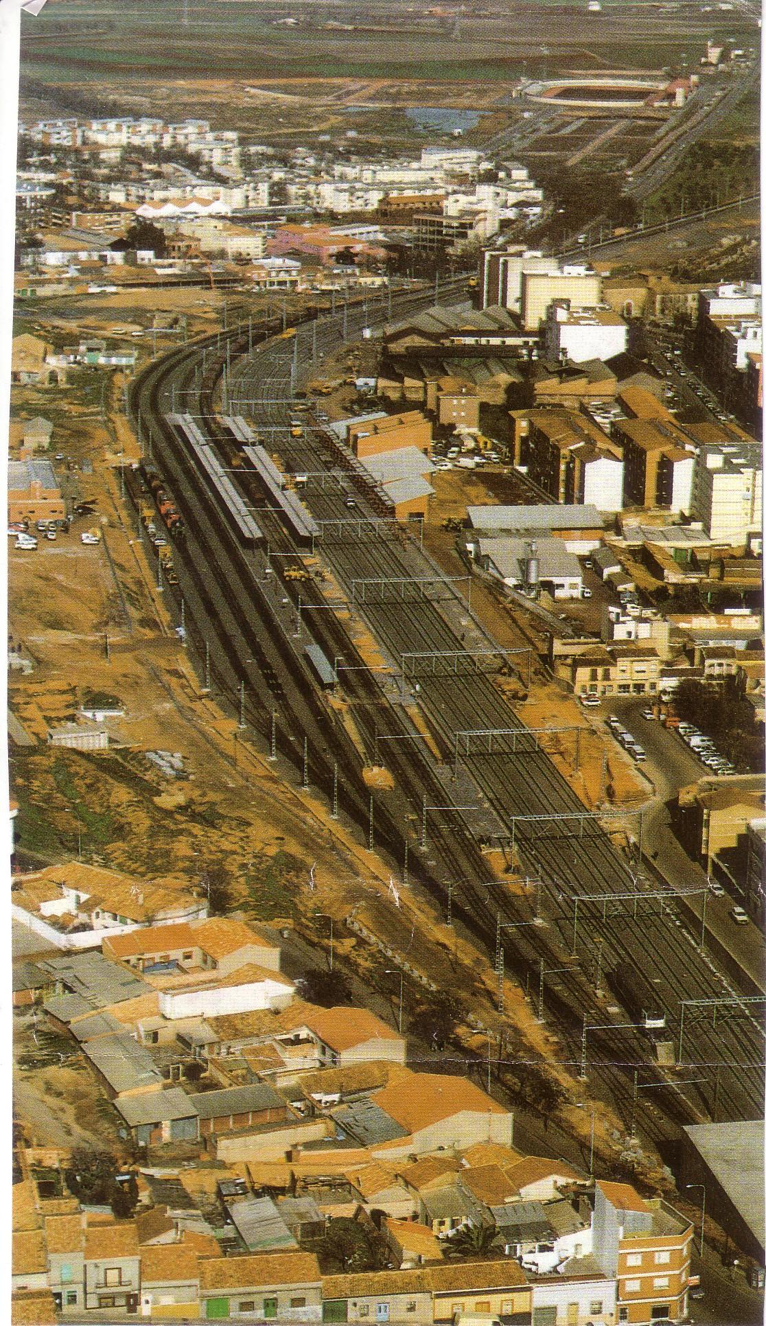 Panorámica de la nueva estación