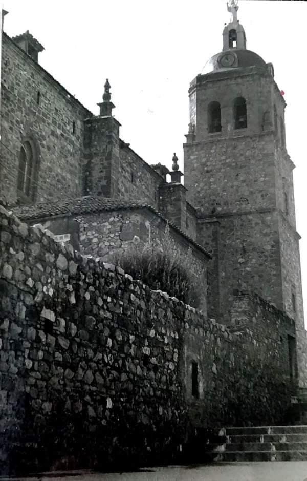 Torre de la Parroquia de la Asunción. Años 60