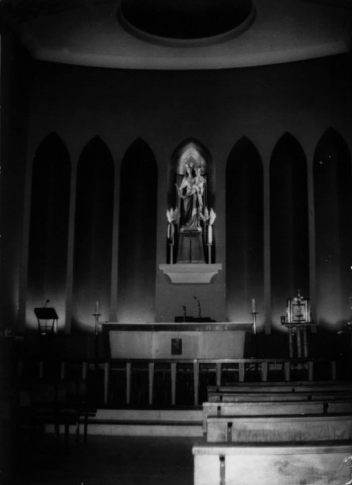 Altar antiguo 1970 Iglesia de los salesianos