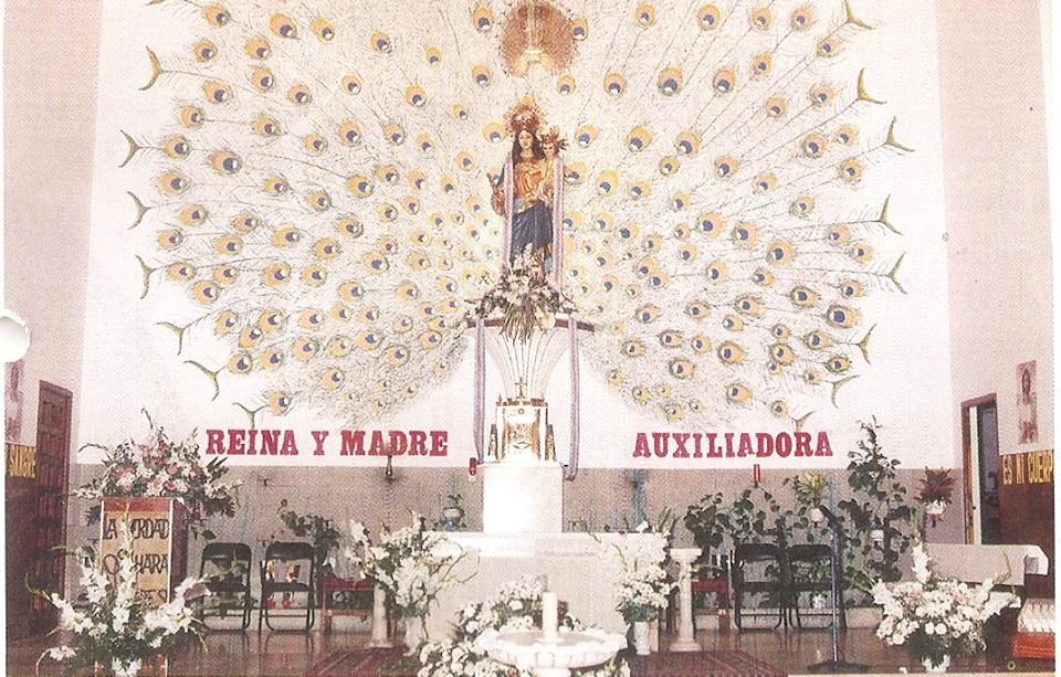 Retablo de la iglesia María Auxiliadora Fotografía. Felipe Valentín García.
