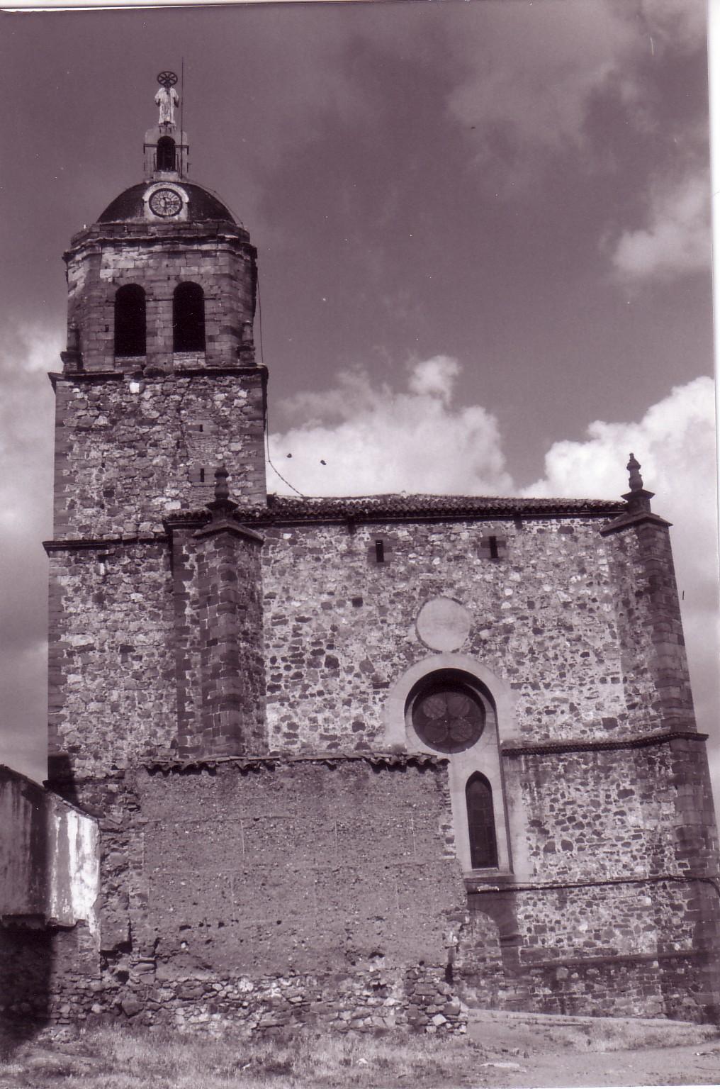 Parroquia de la Asunción 1986 Archivo F. Negrete