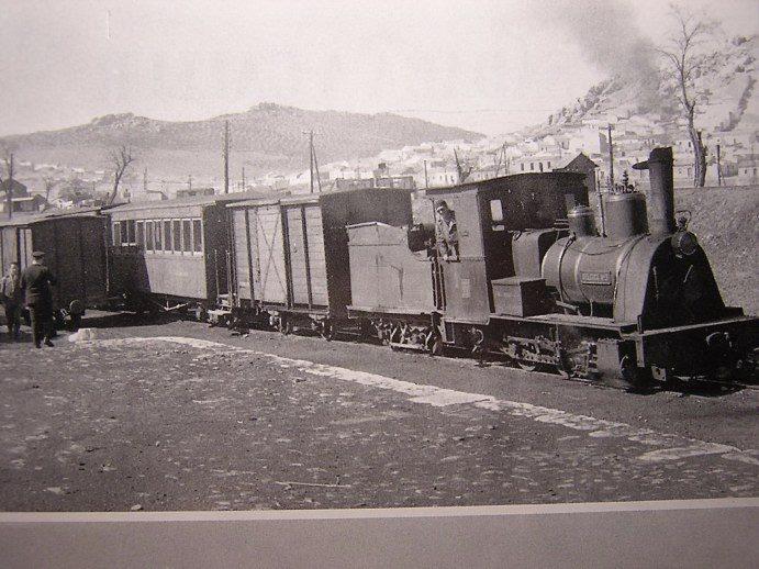 Trenillo de Calzada. Estación Puertollano. Años 50. Archivo Aumi Arias
