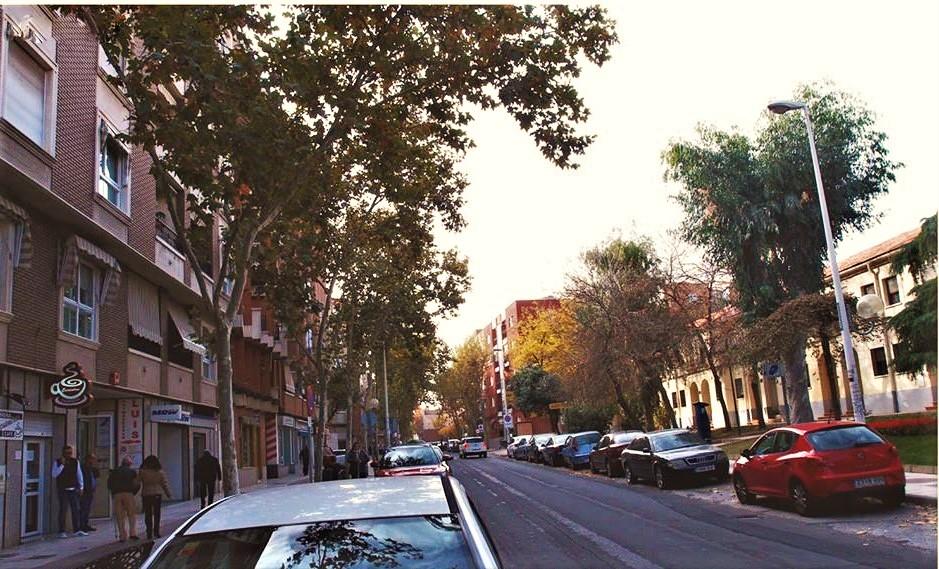 Calle Ancha. Archivo Faustino Miragalla