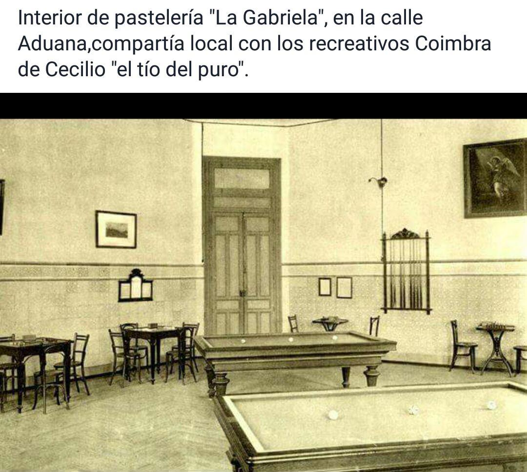 Interior de la Gabriela