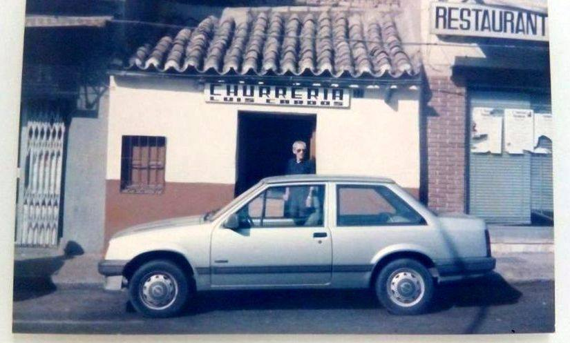 Paseo San Gregorio. Churrería Cardos, Archivo Fotográfico Femi Cardos Duque