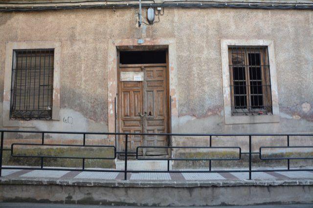 Edificio del antiguo Hospital San Juan Bautista y posterior Juzgado
