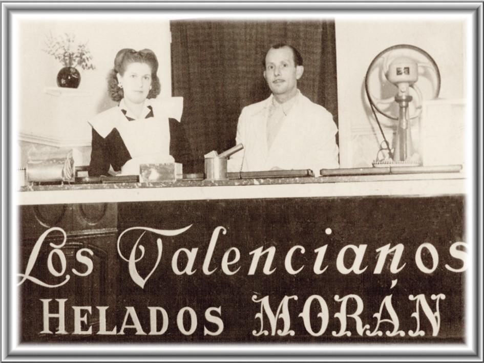 Carlos Moran y Adela Valls