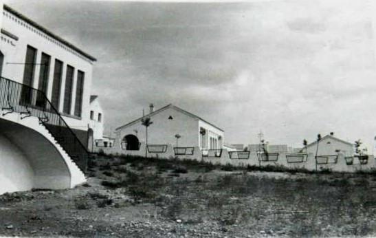 Plaza San José en sus orígenes