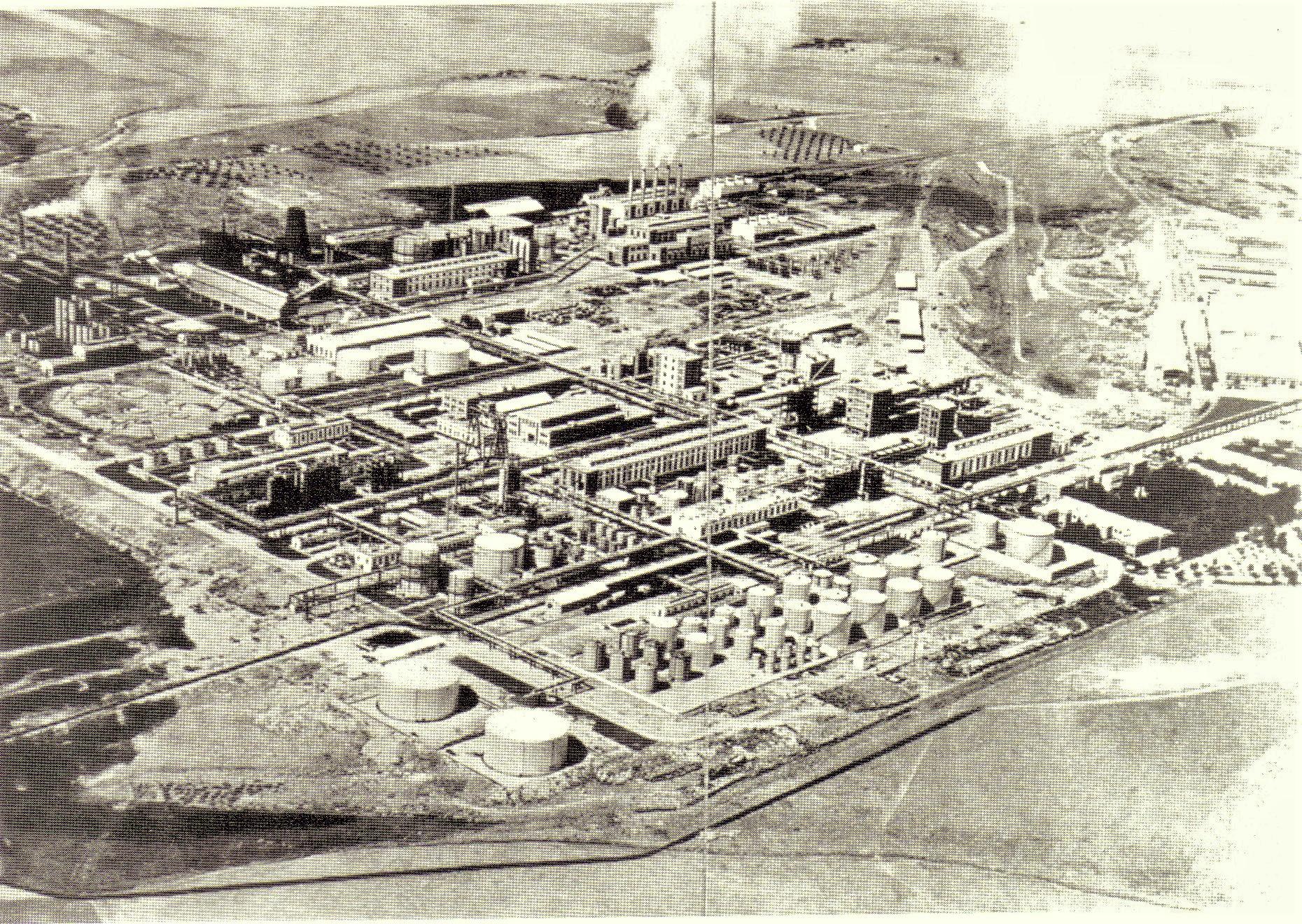 Vista del Complejo Industrial Calvo Sotelo