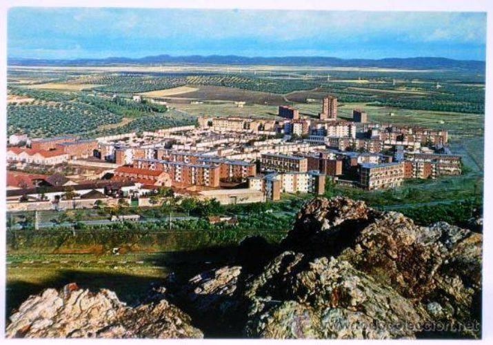 Vista de la Barriada 630. Finales de los 60. (Tarjeta postal)Archivo F. Negrete
